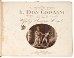 W.A. Mozart. Don Giovanni, 2 volumes, first edition of the full score, Leipzig [1801]