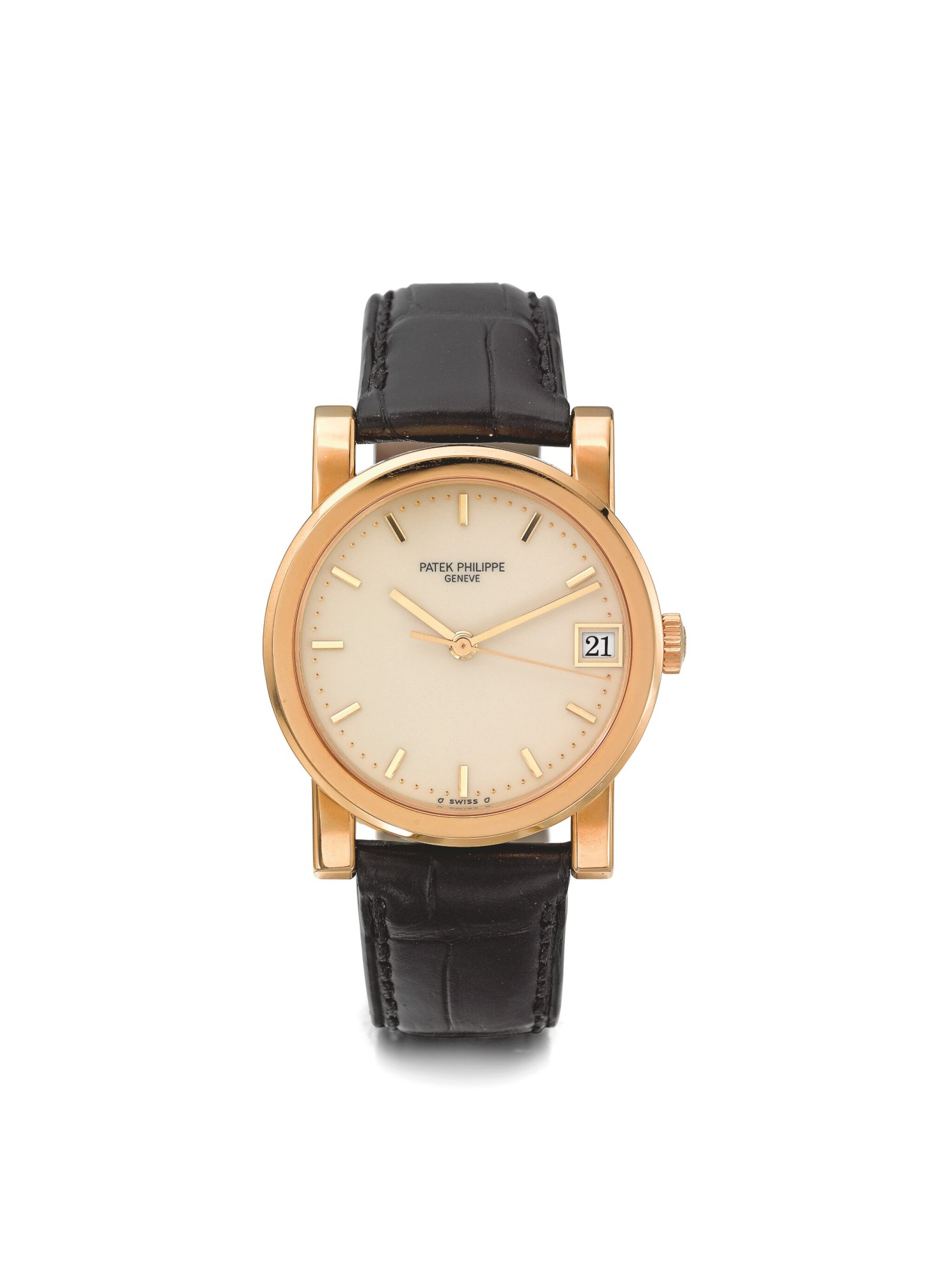 PATEK PHILIPPE | REF 5012, A YELLOW GOLD AUTOMATIC WRISTWATCH WITH DATE MADE IN 1993