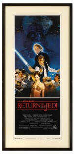 RETURN OF THE JEDI, US STYLE B POSTER, 1983