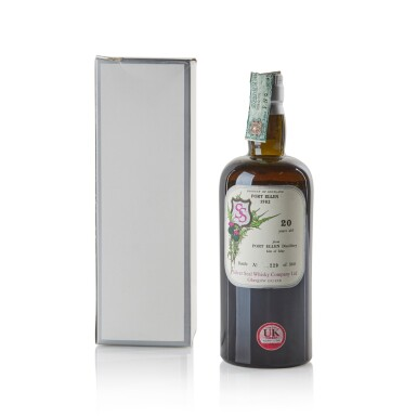 View 2. Thumbnail of Lot 109. Port Ellen 20 Year Old Silver Seal Manager Reserve Missing 40.0 abv 1982 .