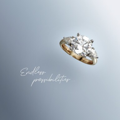 View 2. Thumbnail of Lot 5. A 2.56 Carat Round Diamond, D Color, Internally Flawless.