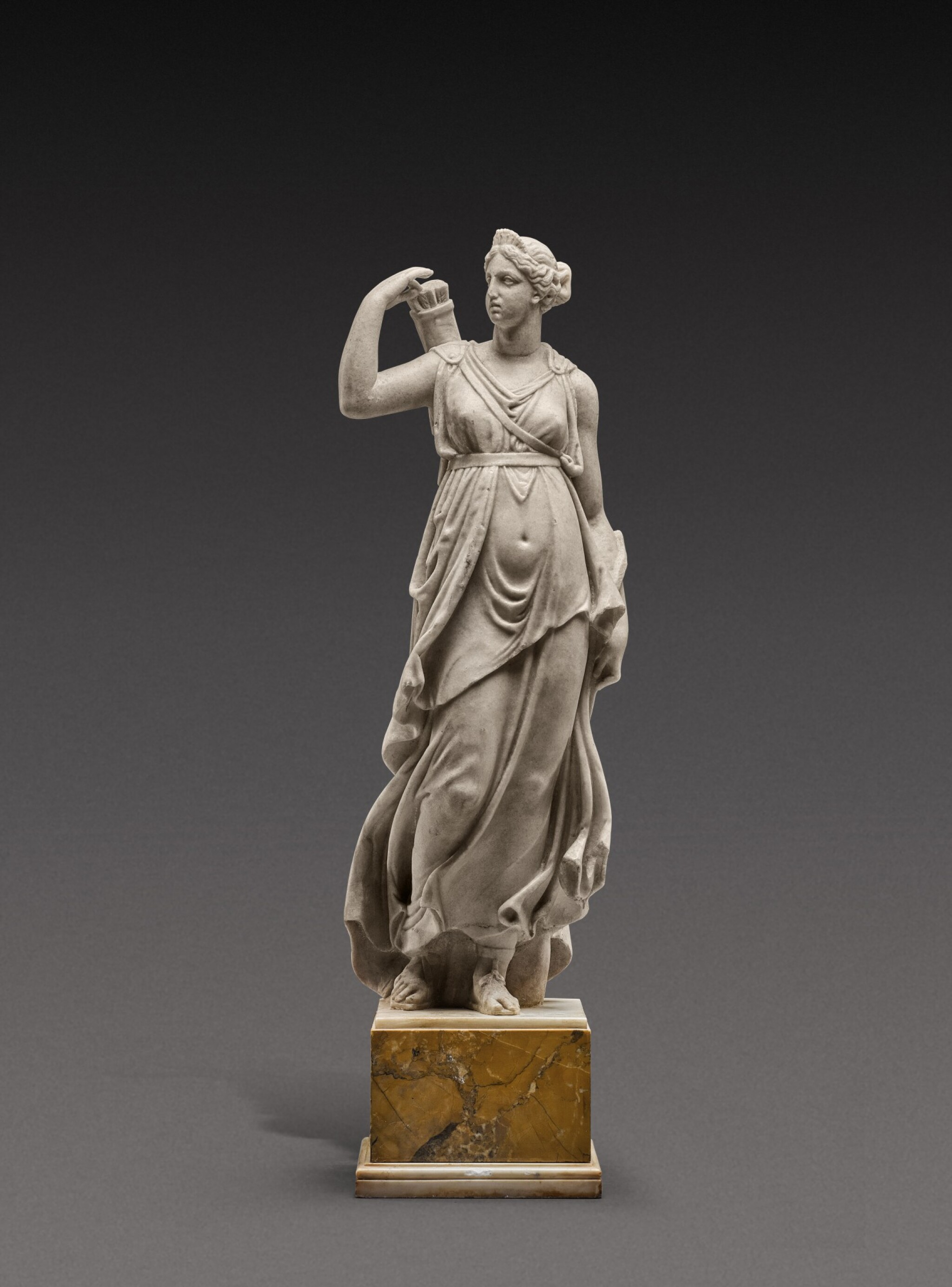 View 1 of Lot 123. French, 18th century | Diana Chasseresse.