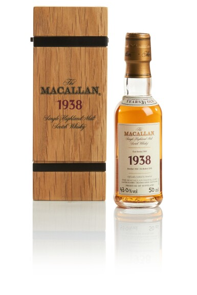 View 1. Thumbnail of Lot 151. THE MACALLAN FINE & RARE 31 YEAR OLD 43.0 ABV 1938.