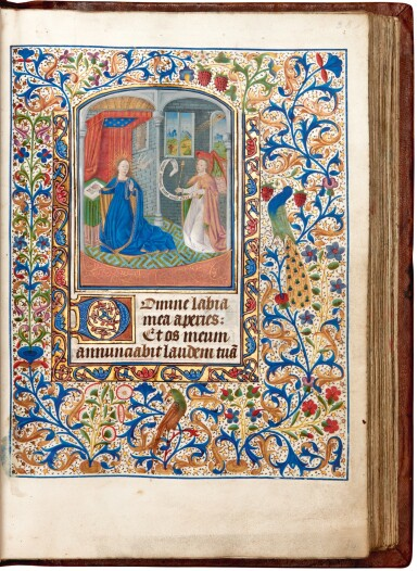 View 5. Thumbnail of Lot 7. Book of hours, Use of Rome, in Latin and Picard French, illuminated manuscript on vellum, mid-15th century.