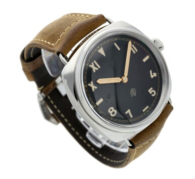 View 3. Thumbnail of Lot 108. Reference PAM00424 Radiomir California   A stainless steel wristwatch, Circa 2016.