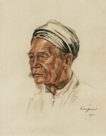 Portrait of an Old Vietnamese Gentlemen | 越南老人肖像