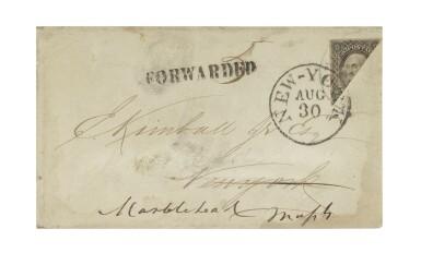 1851 12c Black, Diagonal Bisect (17a)