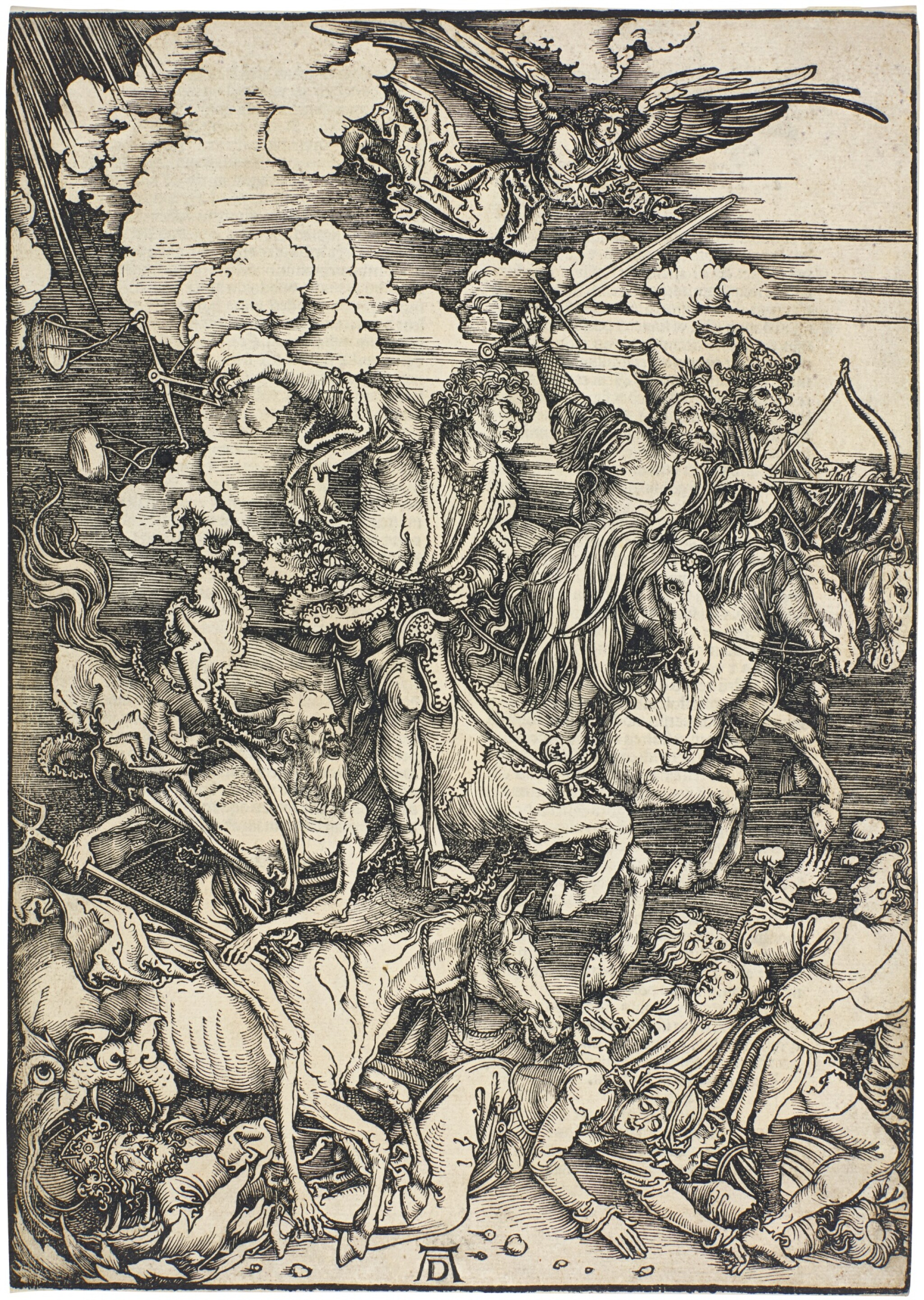 ALBRECHT DÜRER  |  THE FOUR HORSEMEN OF THE APOCALYPSE (B. 64; M., HOLL. 167)