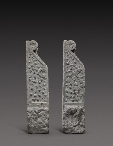 View 3. Thumbnail of Lot 128. Italian, Tuscany, 16th century | Pair of Architectural Brackets.