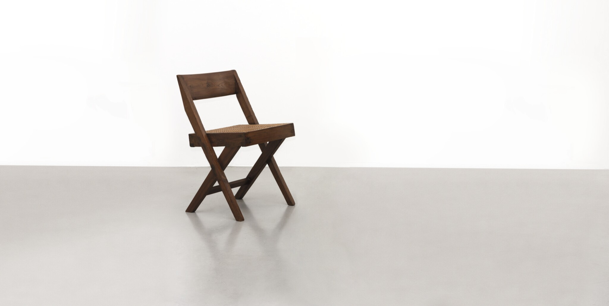 View full screen - View 1 of Lot 45. PIERRE JEANNERET | LIBRARY CHAIR.