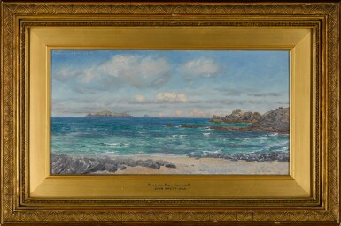 View 2. Thumbnail of Lot 94. Newtrain Bay and Gull Island, Cornwall.
