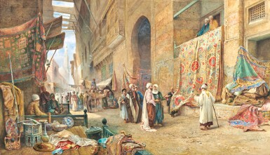 View 1. Thumbnail of Lot 32. CHARLES ROBERTSON | A CARPET SELLER, CAIRO.