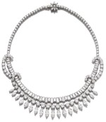 DIAMOND NECKLACE, 1950S