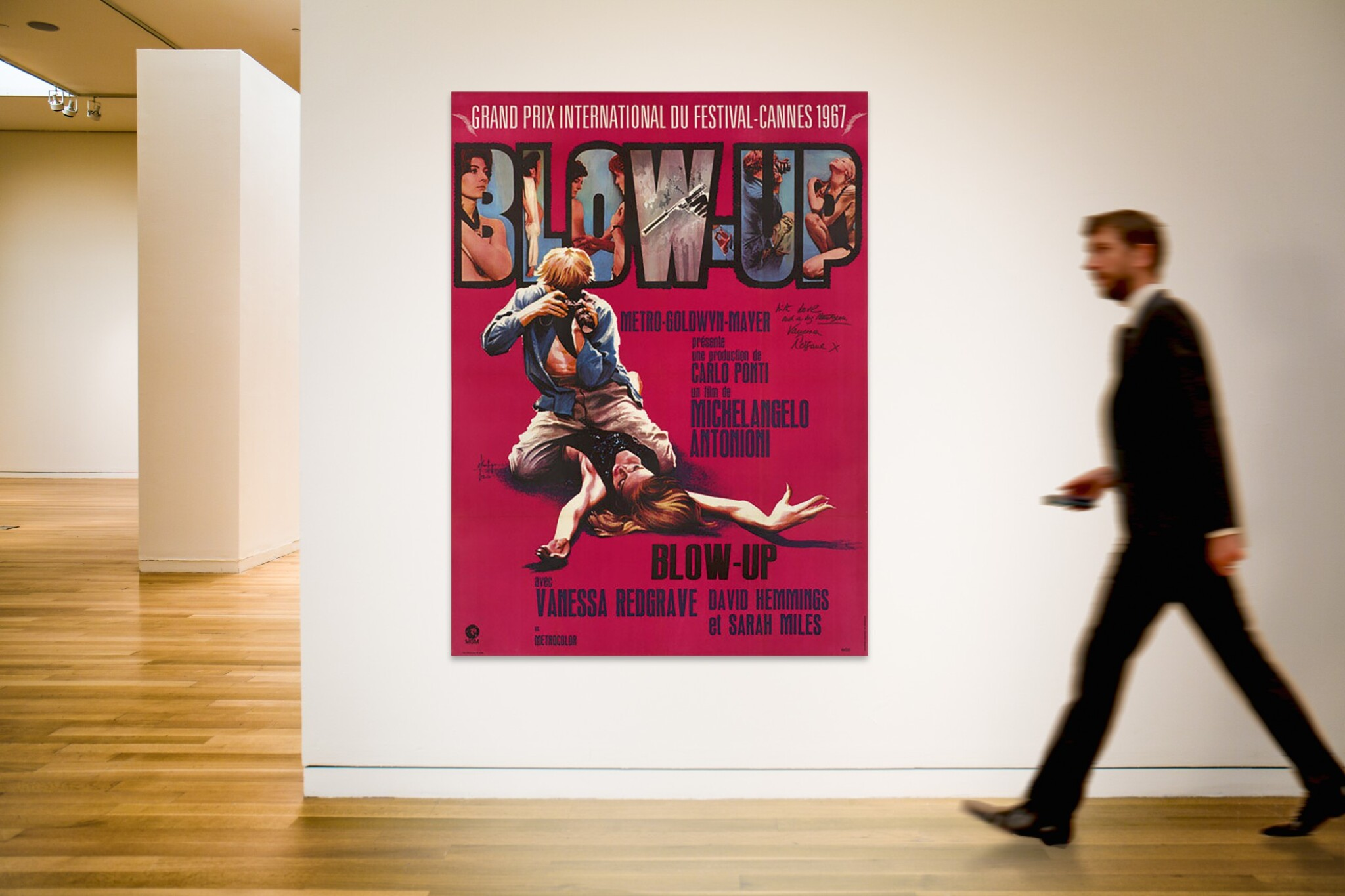 Blowup   British Movie Posters Classic Vintage /& Films