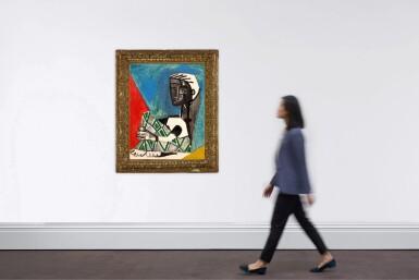 View 4. Thumbnail of Lot 1017. Pablo Picasso 巴布羅・畢加索 | Femme Accroupie 抱膝女子 .