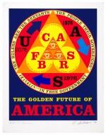 ROBERT INDIANA | THE GOLDEN FUTURE OF AMERICA