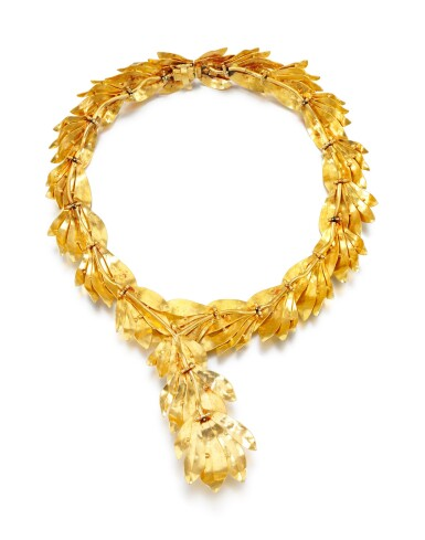 View 3. Thumbnail of Lot 95. NECKLACE, ZOLOTAS.