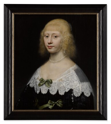 View 3. Thumbnail of Lot 29. Portrait of a young woman, bust-length.