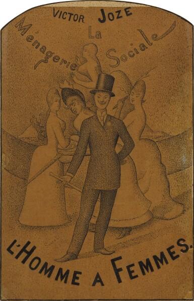 View 1. Thumbnail of Lot 29. L'Homme à femmes.