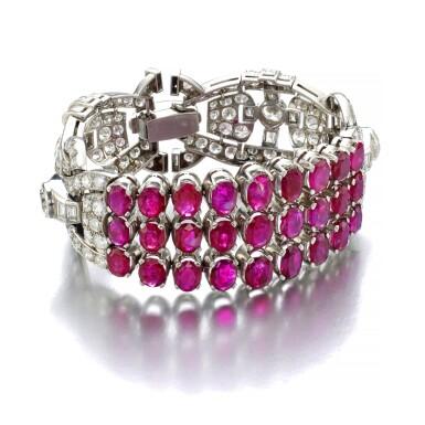 RUBY AND DIAMOND BRACELET [紅寶石配鑽石手鏈]