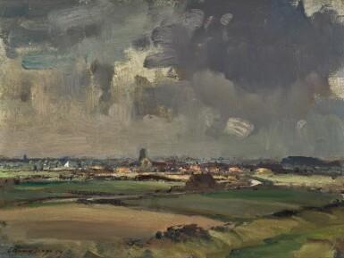 View 1. Thumbnail of Lot 116. Norfolk Landscape.