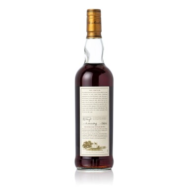 View 2. Thumbnail of Lot 5002. The Macallan Fine & Rare 32 Year Old 54.9 abv 1970 (1 BT70).
