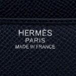 Hermès Indigo Epsom Constance 24cm PHW