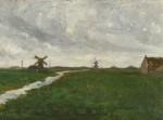 WALTER FREDERICK OSBORNE, R.H.A | ZAANDAM