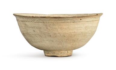 View 3. Thumbnail of Lot 1071.  A PUNCHONG WARE BOWL, KOREA, JOSEON DYNASTY, 15TH / 16TH CENTURY.