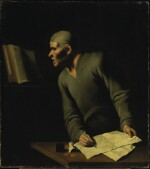 Sold Without Reserve   MASTER OF THE ANNUNCIATION TO THE SHEPHERDS   PORTRAIT OF A SCHOLAR