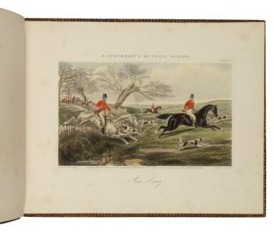 ACKERMANN [PUBLISHER] — HENRY ALKEN |  [Ackermann's Sporting Scraps]. London: R. Ackermann, [ca. 1861]
