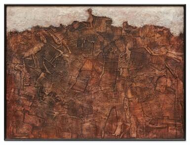 View 3. Thumbnail of Lot 5. Paysage avec êtres tentant de se former (Landscape in Metamorphosis).