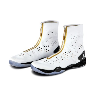 View 2. Thumbnail of Lot 50. Ray Allen Media Day Worn and Signed Air Jordan XXVIII (9/30/2013).