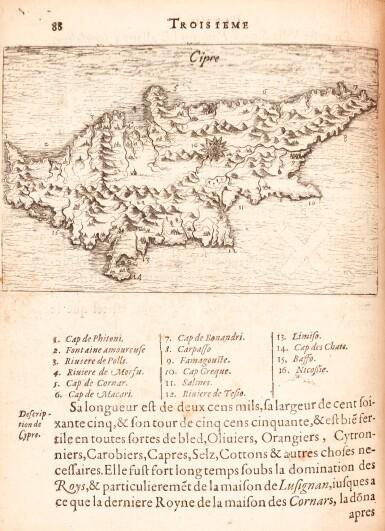 View 2. Thumbnail of Lot 158. Beauvau | Relation journaliere du voyage du Levant, 1615.