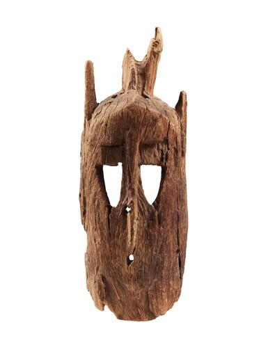 View 1. Thumbnail of Lot 14. Masque walu, Dogon, Mali   Dogon walu mask, Mali.