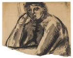 HENRY MOORE | SEATED NUDE: HEAD AND SHOULDERS