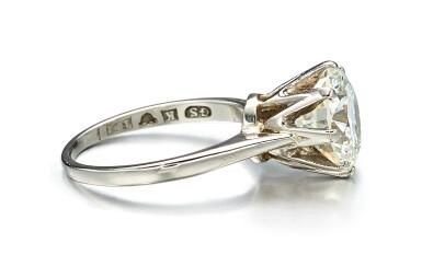 View 2. Thumbnail of Lot 9114. DIAMOND RING | 圓形 鑚石戒指.