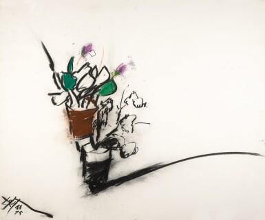 MANOUCHER YEKTAI |  STILL LIFE WITH FLOWERS