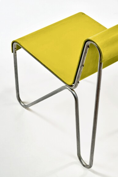 """View 5. Thumbnail of Lot 10. """"Beugel"""" Chair."""