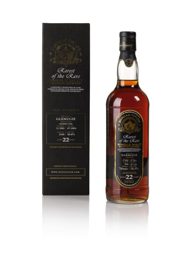 Glenugie Duncan Taylor 22 Year Old Rarest Of The Rare 58.0 abv 1981