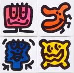 Doodlings (Four Works)   塗鴉(四幅作品)