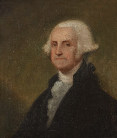 View 1. Thumbnail of Lot 38. Portrait of George Washington.