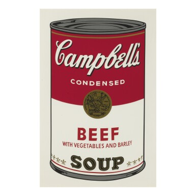 View 5. Thumbnail of Lot 19. ANDY WARHOL | CAMPBELL'S SOUP I (F. & S. II.44-53).