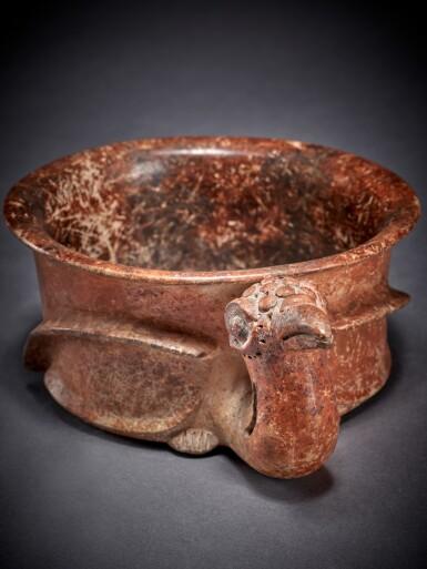 View 3. Thumbnail of Lot 100. Maya Bird Effigy Vessel Early Classic, circa AD 250 - 450.
