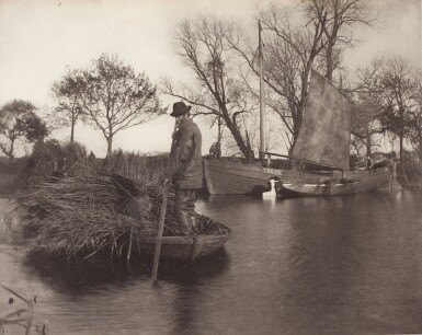 View 11. Thumbnail of Lot 33. England—Peter Henry Emerson and T.F. Goodall | Life and Landscape on the Norfolk Broads. London, 1886.