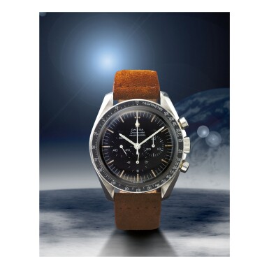 OMEGA | SPEEDMASTER REF 105.012-64 'TRITIUM', A STAINLESS STEEL CHRONOGRAPH WRISTWATCH, MADE IN 1965