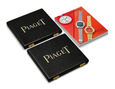 View 4. Thumbnail of Lot 8008. PIAGET | A SET OF LEATHER TRAVEL CASES, 1990.