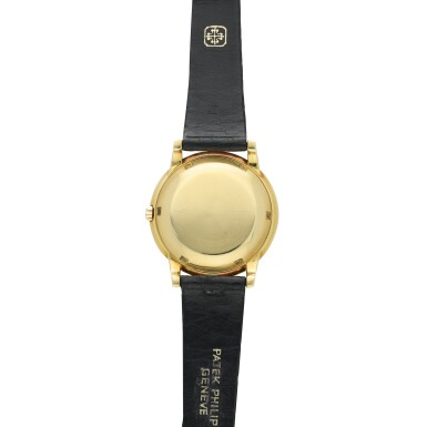 View 4. Thumbnail of Lot 241. Reference 2552 'The Flying Saucer'  A yellow gold automatic wristwatch, Made in 1955 .