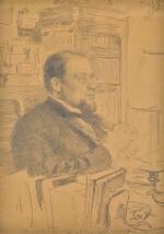 ILYA EFIMOVICH REPIN   Portrait of Anatoly Fedorovich Koni
