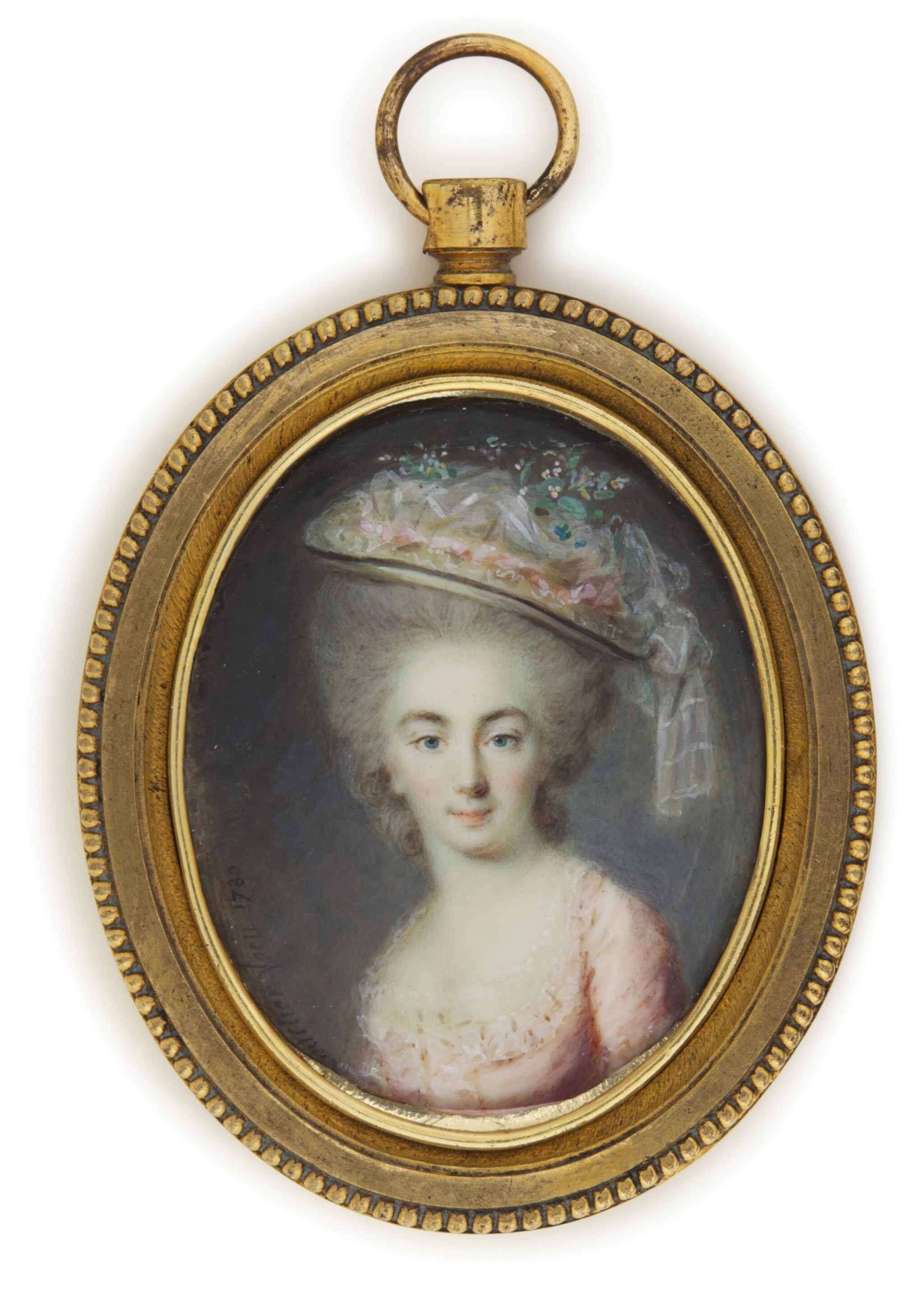 View full screen - View 1 of Lot 141. Portrait of a lady, traditionally identifed as the Comtesse de Provence.